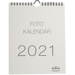 Kalendář na vlastní foto MALIČKÝ 2021 béžový