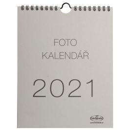 Kalendář na vlastní foto MALIČKÝ 2021 šedý