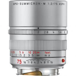 LEICA M 75 mm f/2,0 Asph. APO-Summicron-M stříbrný elox