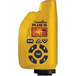 POCKETWIZARD PLUS III rádiový vysílač/přijímač blesku žlutý