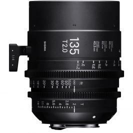 SIGMA 135 mm T2 FF FL EF-mount