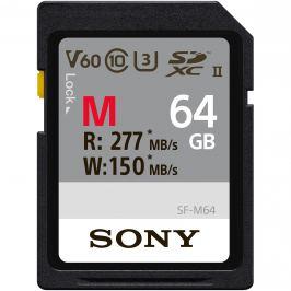 SONY SDXC 64GB UHS-II R:277MB/s W:150MB/s
