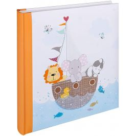 WALTHER  BY MY SIDE   klasické/50 stran, 28x30,5, dětské, oranžové