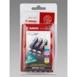 CANON Náplň CLI-521C/M/Y pack 3ks