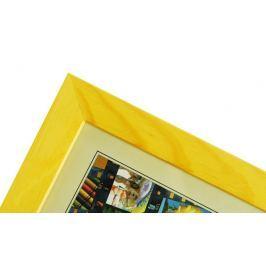 CODEX SLS rám 15x21 dřevo, žlutá 005