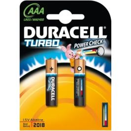 DURACELL AAA alkalická baterie TURBO 2ks