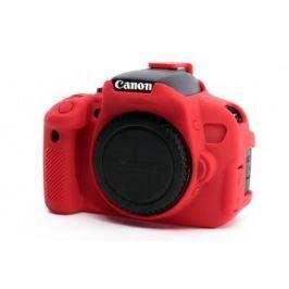 EASYCOVER silikonové pouzdro pro Canon EOS 650D/700D červené