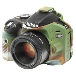 EASYCOVER silikonové pouzdro pro Nikon D3200 Camouflage