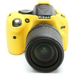 EASYCOVER silikonové pouzdro pro Nikon D5200 žluté
