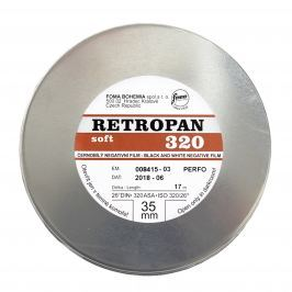 FOMA RETROPAN 320 soft/metráž 17 m