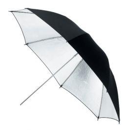 TERRONIC S-85 Studiový deštník -  stříbrný
