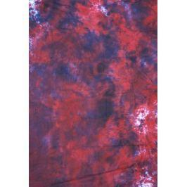 FOMEI textilní pozadí 2,7x7m BATIK červeno-bílo-černá