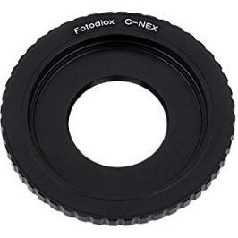 FOTODIOX adaptér objektivu C-mount na tělo Sony E