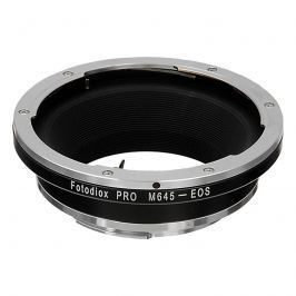 FOTODIOX adaptér objektivu Mamiya 645 na tělo Canon EOS