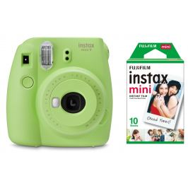 FUJIFILM INSTAX MINI 9 zelený BOX malý