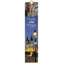 Kalendář Leon - PRAHA 2019 foto nástěnný úzký