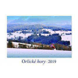Kalendář Šourek ORLICKÉ HORY 2019