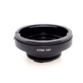 KIPON adaptér objektivu Pentax 67 na tělo Pentax K