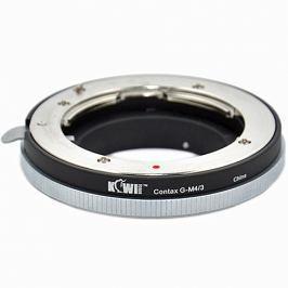 KIWI adaptér objektivu Contax G na tělo Olympus/Panasonic MFT