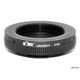 FOTODIOX adaptér objektivu M39 na tělo Fujifilm X