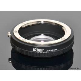 KIWI adaptér objektivu Nikon D na tělo Sony A