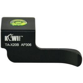 KIWI Thumb up grip TA-X20B pro Fujifilm X10/20/30 černý