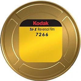 KODAK TRI-X super 8 mm 7266 v kazetě