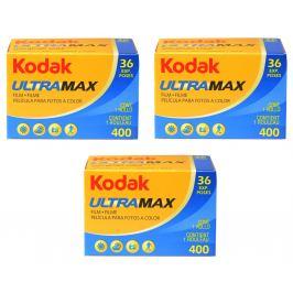 KODAK UltraMax 400/135-36 3-balení