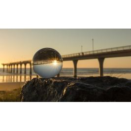 LARMOR křišťálová koule pro kreativní fotografování 60mm