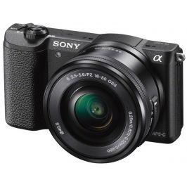 SONY Alpha A5100 černý + 16-50 mm + 55-210 mm Digitální fotoaparáty