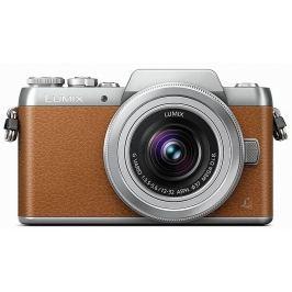 PANASONIC Lumix DMC-GF7 hnědý + 12-32 mm Digitální fotoaparáty