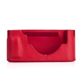 LEICA pouzdro Protector kožené pro Leicu M10 červené