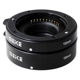 MEIKE Mezikroužky set 10/16 mm pro MFT