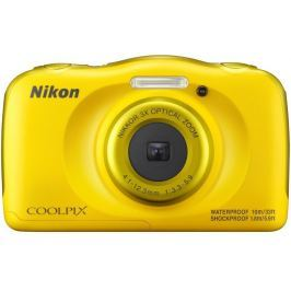 NIKON COOLPIX W100 žlutý - backpack kit