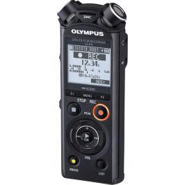 OLYMPUS diktafon LS-P4 + WJ-2 Wind Jammer ZDARMA