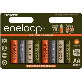 PANASONIC Eneloop AA NiMH 1900mAh/8ks EXPEDITION