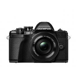 OLYMPUS E-M10 Mark III černý + 14-42 EZ černý Digitální fotoaparáty