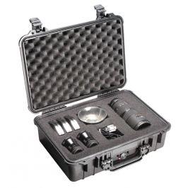 PELI CASE 1500 - vodotěsný kufr s pěnou