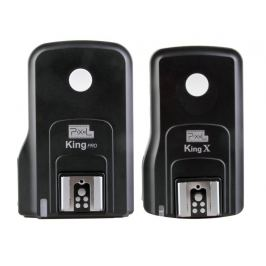 PIXEL KING PRO rádiový odpalovač/přijímač blesku Nikon i-TTL (set 1+1)