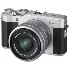 FUJIFILM X-A5 černý + XC 15-45 mm Digitální fotoaparáty