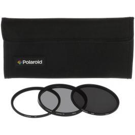 POLAROID sada filtrů UV, CPL, ND9 62 mm