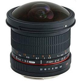 SAMYANG 8 mm f/3,5 UMC Fish-eye CS II pro Nikon AE (APS-C)
