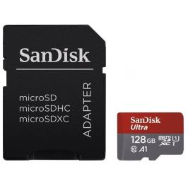 SANDISK microSDXC 128GB ULTRA 100MB/s Class 10 UHS-I + SD adapter