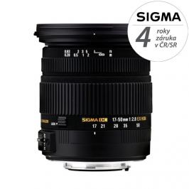SIGMA 17-50 mm f/2,8 EX DC OS HSM pro Nikon F