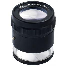 ADOX lupa příložná 10x s LED osvětlením Lupy