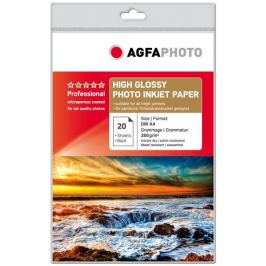 AGFA inkjet 260g High Gloss Professional A4/20 Papíry do tiskáren