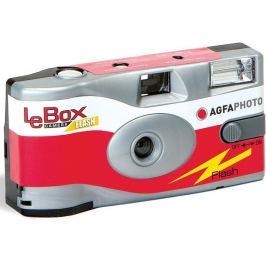 AGFA LeBox jednorázový fotoaparát s bleskem 400/27