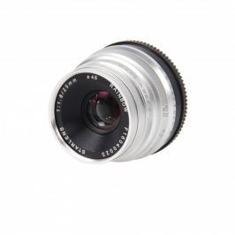 STARLENS Rainbow 25 mm f/1,8 pro Fujifilm X stříbrný