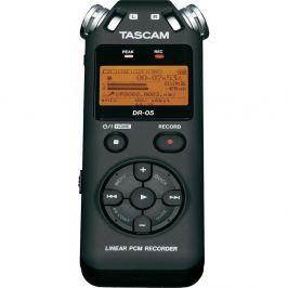 TASCAM DR-05V2 kompaktní ruční rekordér, 2 mikrofony microSD/SDHC média,