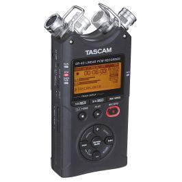 TASCAM DR-40 V2 přenosný stereo rekordér na karty SD/SDHC, 24 bit, WAV, MP3,
